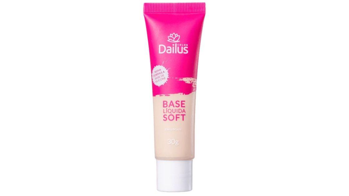 Base Líquida Soft - Dailus é uma das melhores bases líquidas do mercado