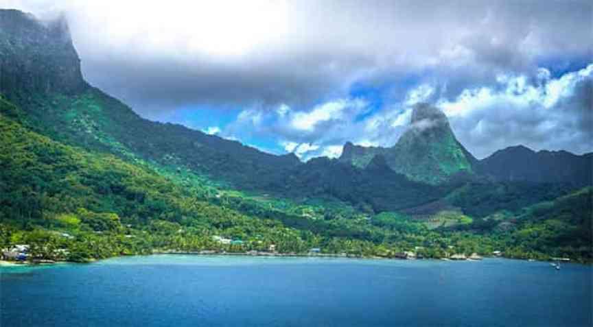 Mooréia, Polinésia Francesa