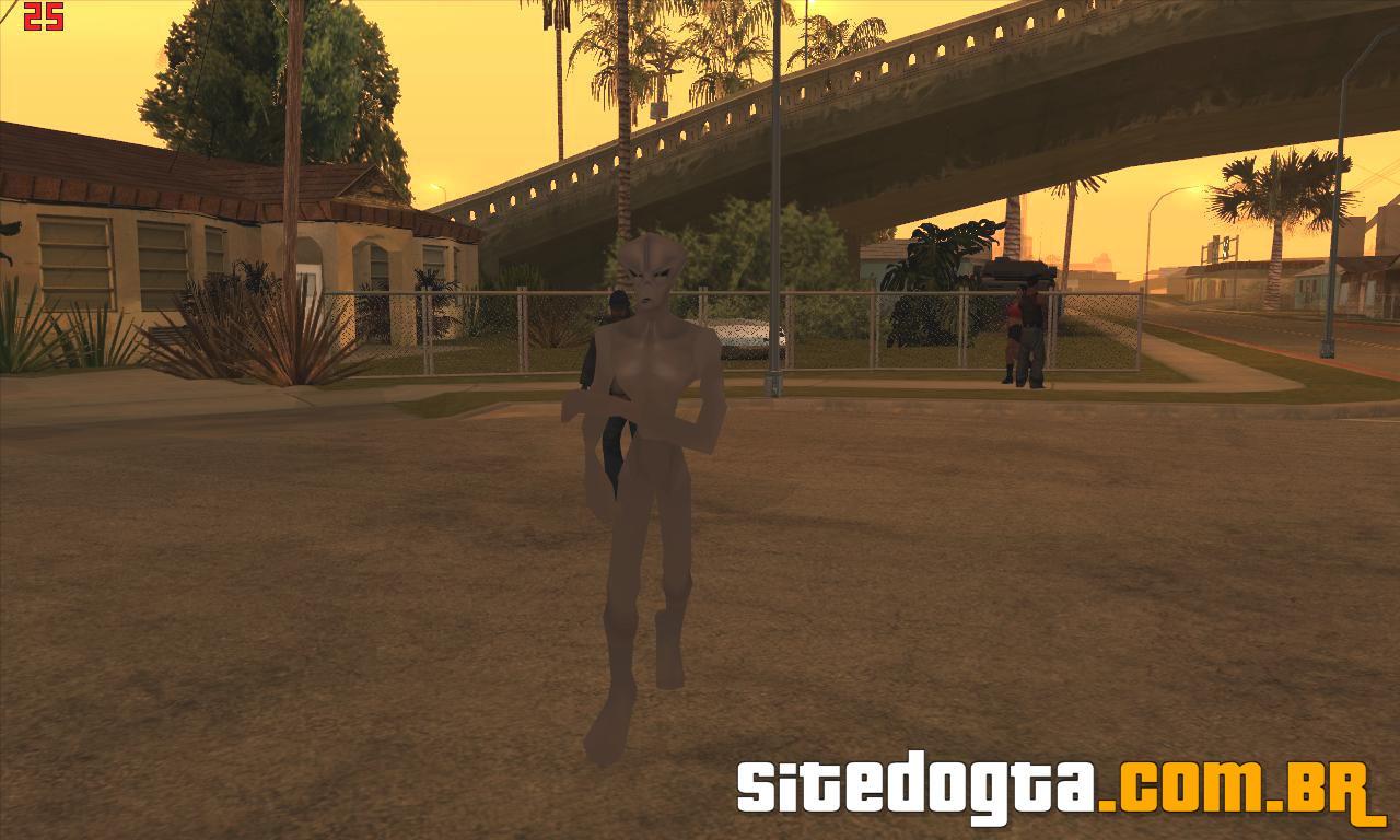 Mod do ET na casa do Ryder para GTA San Andreas  Site do GTA