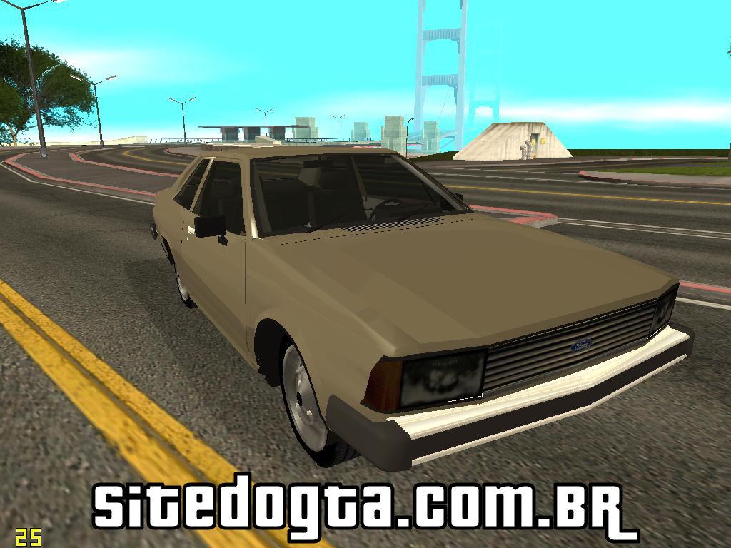 Ford Corcel 1981 Para GTA San Andreas Site Do GTA