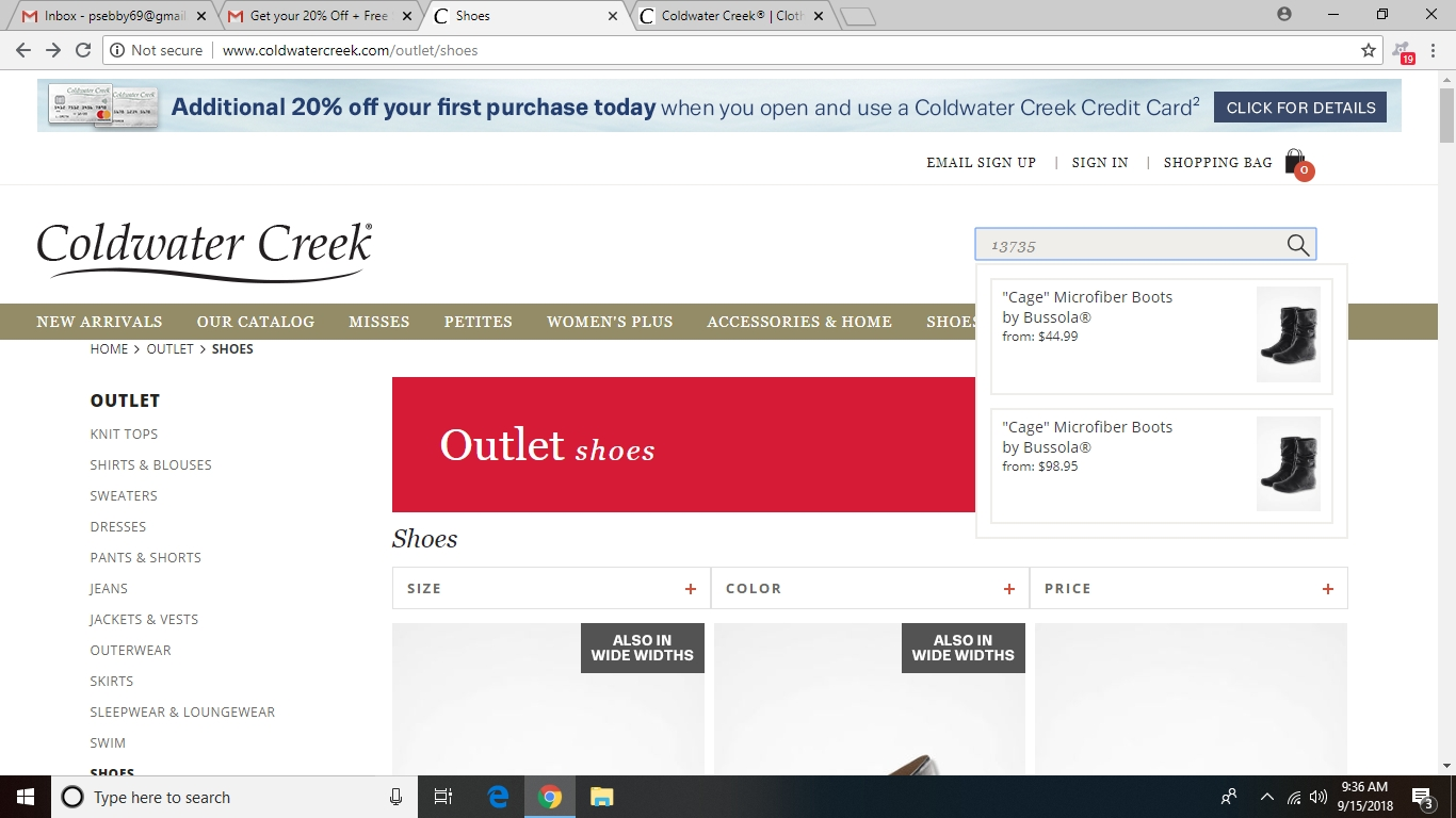 Stores Like Coldwater Creek Online