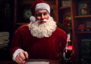 coca cola papa noel