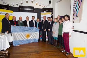 Fernando De Andreis junto a directores del Ente  y representantes del sector (2)