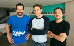 Gustavo Mames, Ariel Kogutek y Sebastian Almada