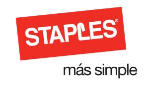 Logo Staples slogan m‡s simple