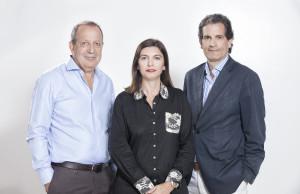 Dario Straschnoy, Carolina Dennin, Santiago Lacase