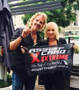 Lanzamiento ASSIST CARD Extreme - Facundo Arana & Alexia Keglevich