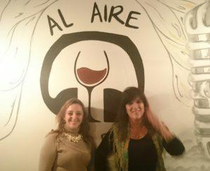 Gisela y Alicia en Radio Bar Sitemarca 52