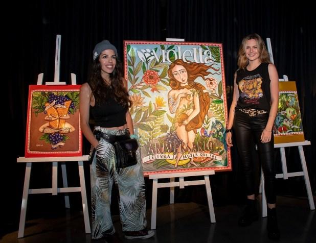 Fedrika y Chule, embajadoras de Violetta Cosméticos en el lanzamiento del E-Commerce