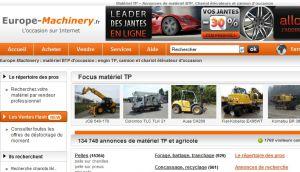 Europe Machinery Matriel BTP Chariot Lvateur Et