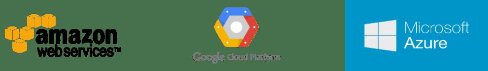 cloud service logos