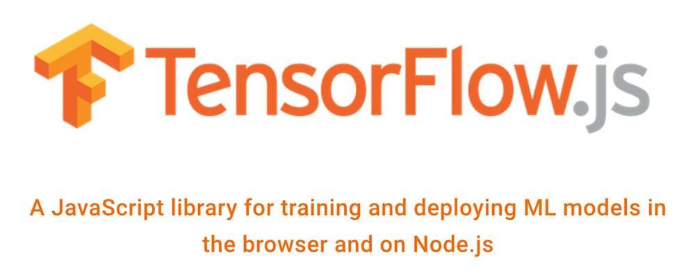 The Tensorflow.js logo