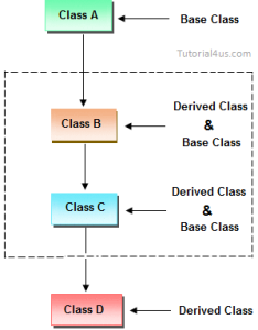 Multilevel inheritance also in  real life example of rh sitesbay