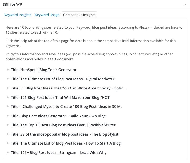WordPress-Plugin-Competitive-Insights