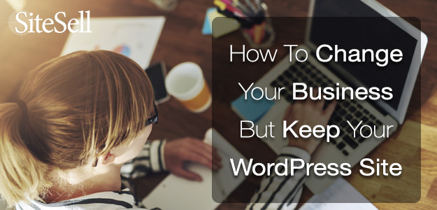 How To Change Your Business But Keep Your Website