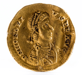 Octavian released a series of coins