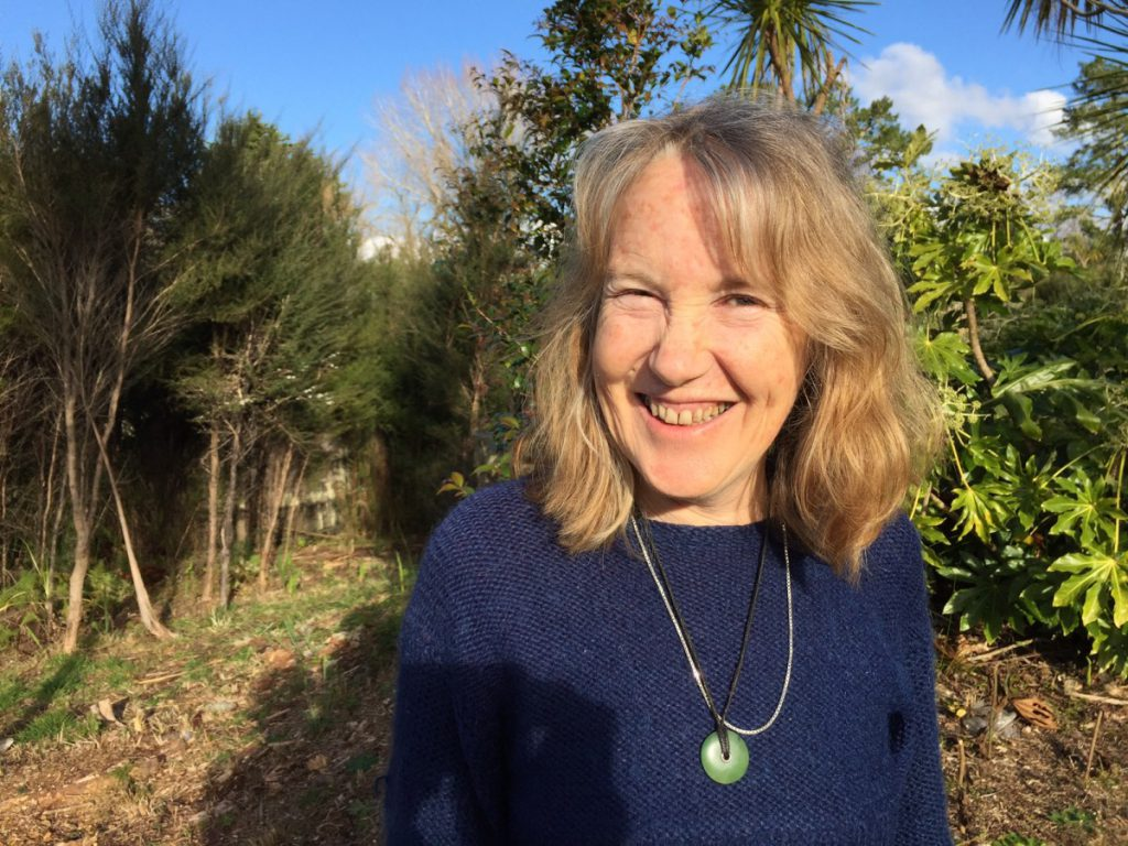 Susan in her Garden