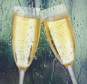 Writing Product Reviews - Bottle of Prosecco if it rains