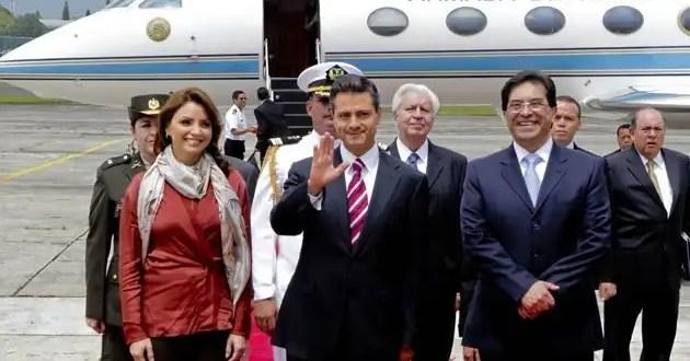 Los sueldos del equipo de Enrique Peña Nieto