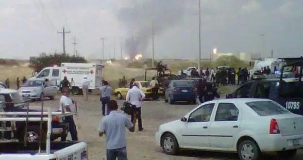26 muertos por incendio en planta de Pemex en Tamaulipas