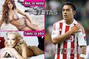 Foto: Marcos Fabián infiel a Ana Bekoa