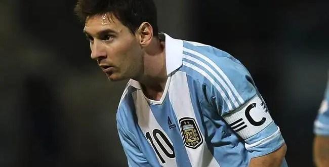 Reciben de forma hostil a Lionel Messi
