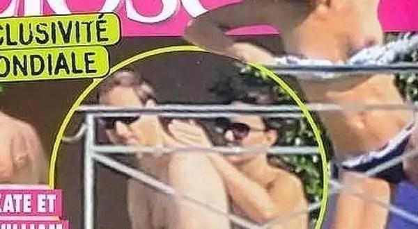 Foto escándalo: El topless de la duquesa Catalina