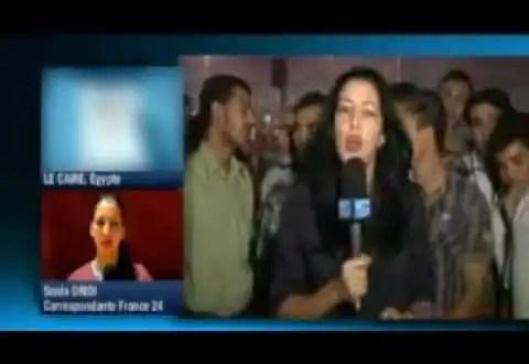 Video: Acoso en directo a una periodista en Egipto