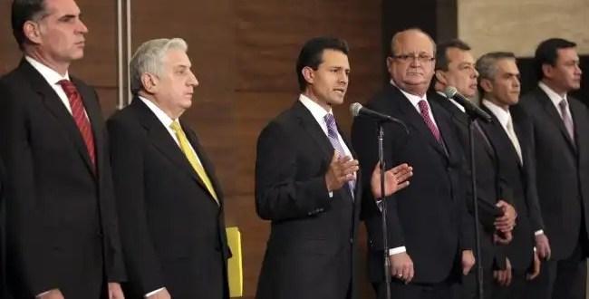 Pacto entre Enrique Peña Nieto y el PRD