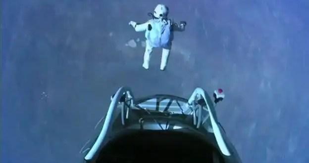 Los mejores saltos del hombre que rompió la barrera del sonido