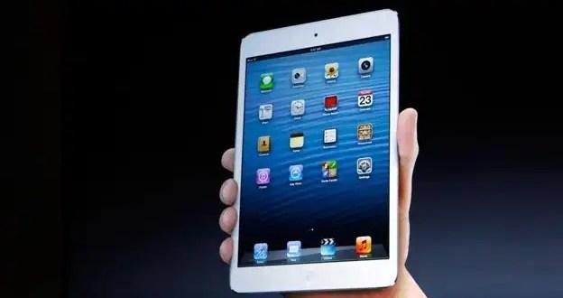 Cómo funciona el mini iPad de Apple