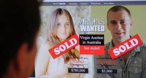 Joven subastó su virginidad y ya tiene comprador - Conoce el acuerdo