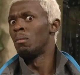 Foto: Usain Bolt con nuevo color de cabello