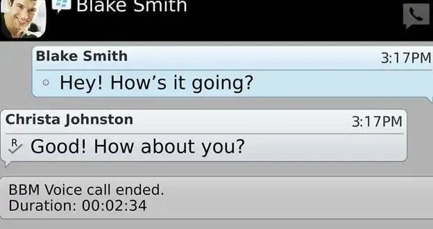 Cómo hacer llamadas gratis por Blackberry Messenger