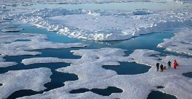 El Ártico pierde una superficie de hielo similar a la India