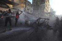 Más de 25 ataques aéreos deja 8 muertos y 50 heridos en Gaza - Fotos