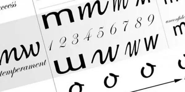 Lo que tu letra dice de tí - Análisis de las letras
