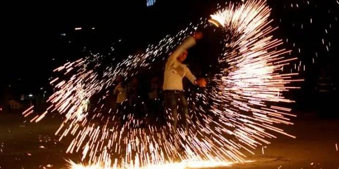 Festejos por la tregua entre Hamas e Israel