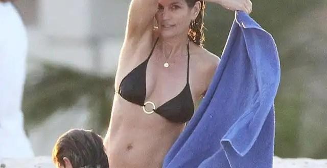 Fotos: El cuerpo de Cindy Crawford a los 46 años