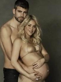 Fotos: Shakira y Gerard Piqué en 'Baby Shower virtual'