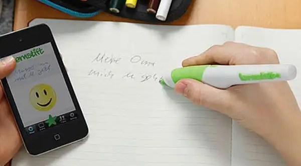 Cómo funciona el bolígrafo que corrige fallas gramaticales