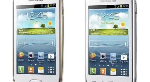 Samsung Galaxy Young y Samsung Galaxy Fame: características, precios y fotos