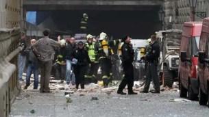 55 heridos tras explosión en escuela de Praga - Fotos