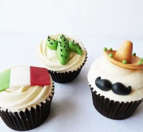 Cupcakes para estas fiestas patrias