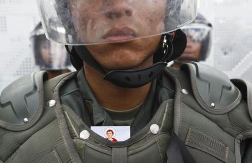 Muere un militar en las protestas de Venezuela