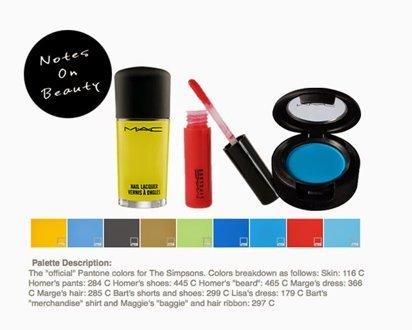 Marge Simpson tiene su propio maquillaje edición limitada-1