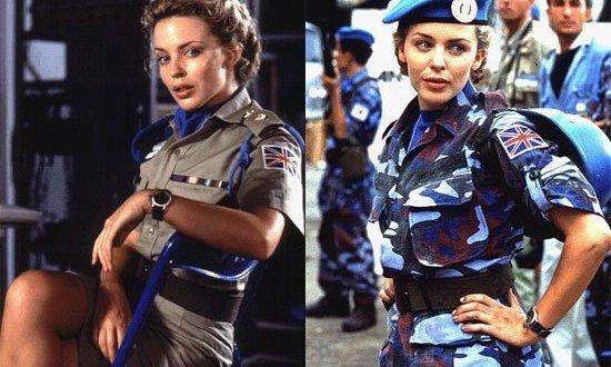 Kylie Minogue avergonzada de su pasado en el cine