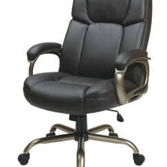 Office Chair For Tall Man T4 Spa Pedicure Executive Big Mans With Espresso Eco Leather Seat