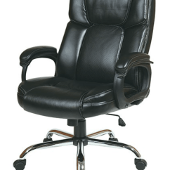 Big Man Chairs Design Within Reach Chair Walnut Executive Mans With Black Eco Leather Seat And