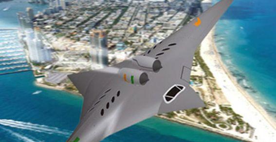 """Un """"avión ninja"""" volará en cuatro horas entre Nueva York y Tokio"""